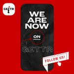 Image for the Tweet beginning: We're on GETTR! Follow us