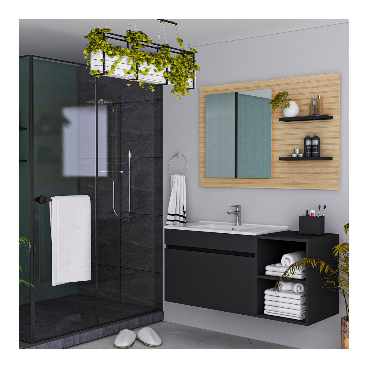 STELLA Alnınızı en iyi şekilde kullanabilmeyi hedefleyen Stella, geniş renk ve kaplama seçeneklerine sahiptir. #borpanel #kalite #estetik #banyo #bath #bathroom #quality #aesthetic