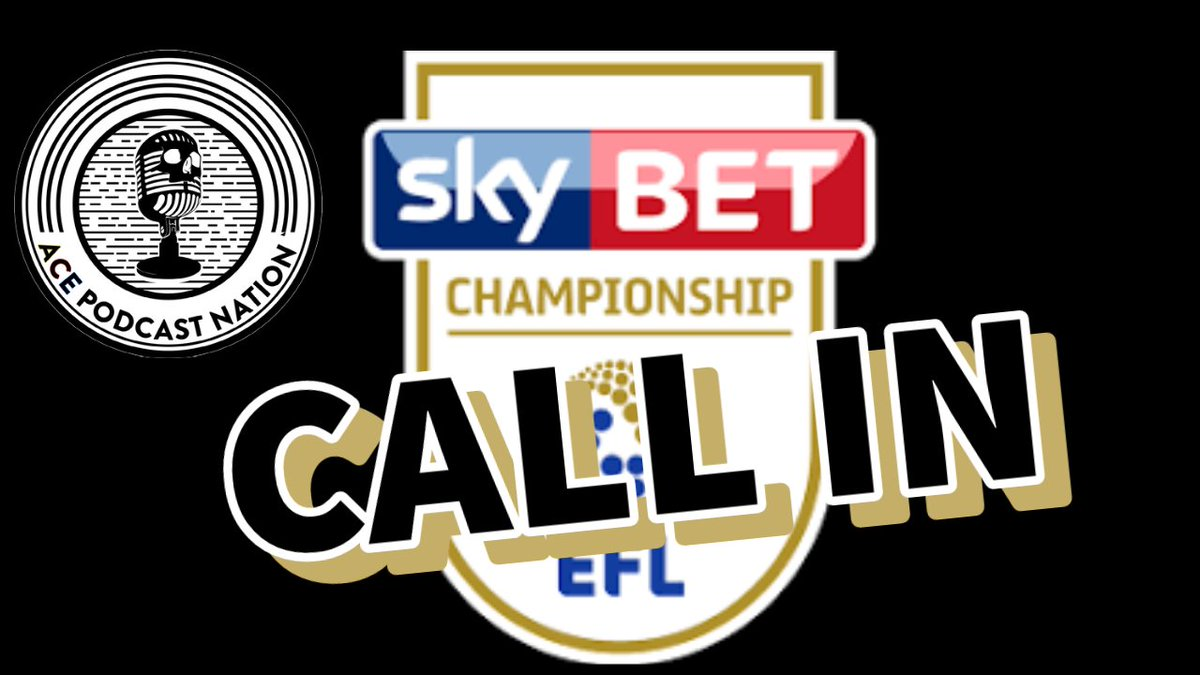 Remember tonight is a special #EFL #Championship Call in show If youd like a few mins to have your say on your club then send us a DM. 7.30pm Tonight only on Youtube, Facebook & Twitter #boro #CCFC #Bluebirds #SCFC #Stoke #BRFC #FFC #NFFC #PUFC #Rfc #dcfc #sufc Few slots left