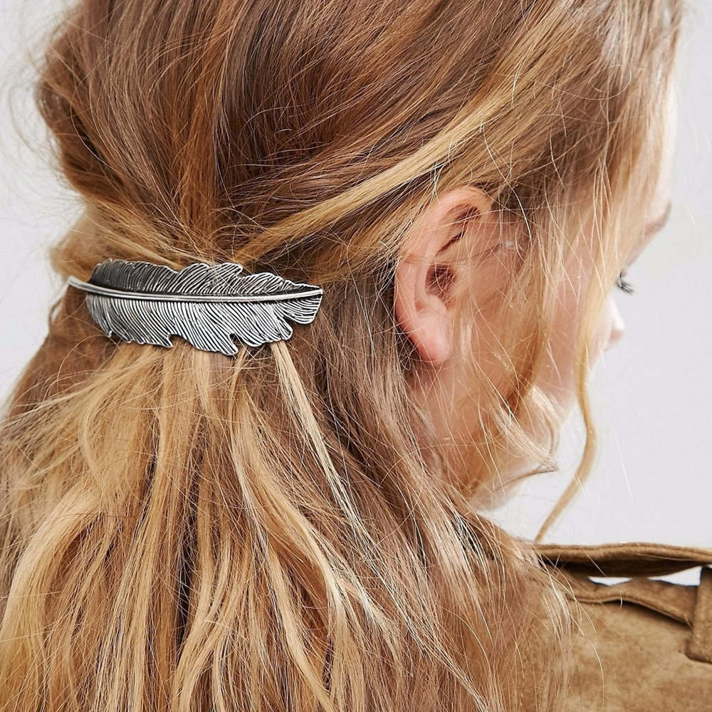 #healthybreakfast #superfood Retro Feather Hair Pin