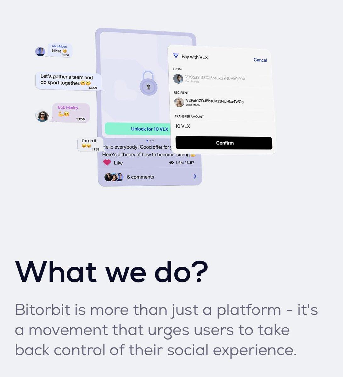 ⚡️@bitorbitapp ⚡️ Coinmarketcap üzerinde airdrop etkinliğine 1.4m kişi katılmış görünüyor.   Platform: #VelasPad  📆IDO Tarihi: 2 Kasım 🧨Initial Mcap: 161k$  Whitelist: swee.ps/SqvHu_FLSyRwi  Velas destekli sosyal medya odaklı bir applikasyon projesi.