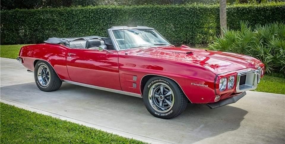 Beautiful 69 Firebird 400 convertible…