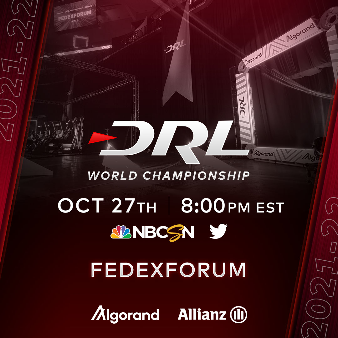 Flying at @FedexForum for the first time ever this week 🔜  #DRL @algorand | @Allianz https://t.co/pGFSONptG0.