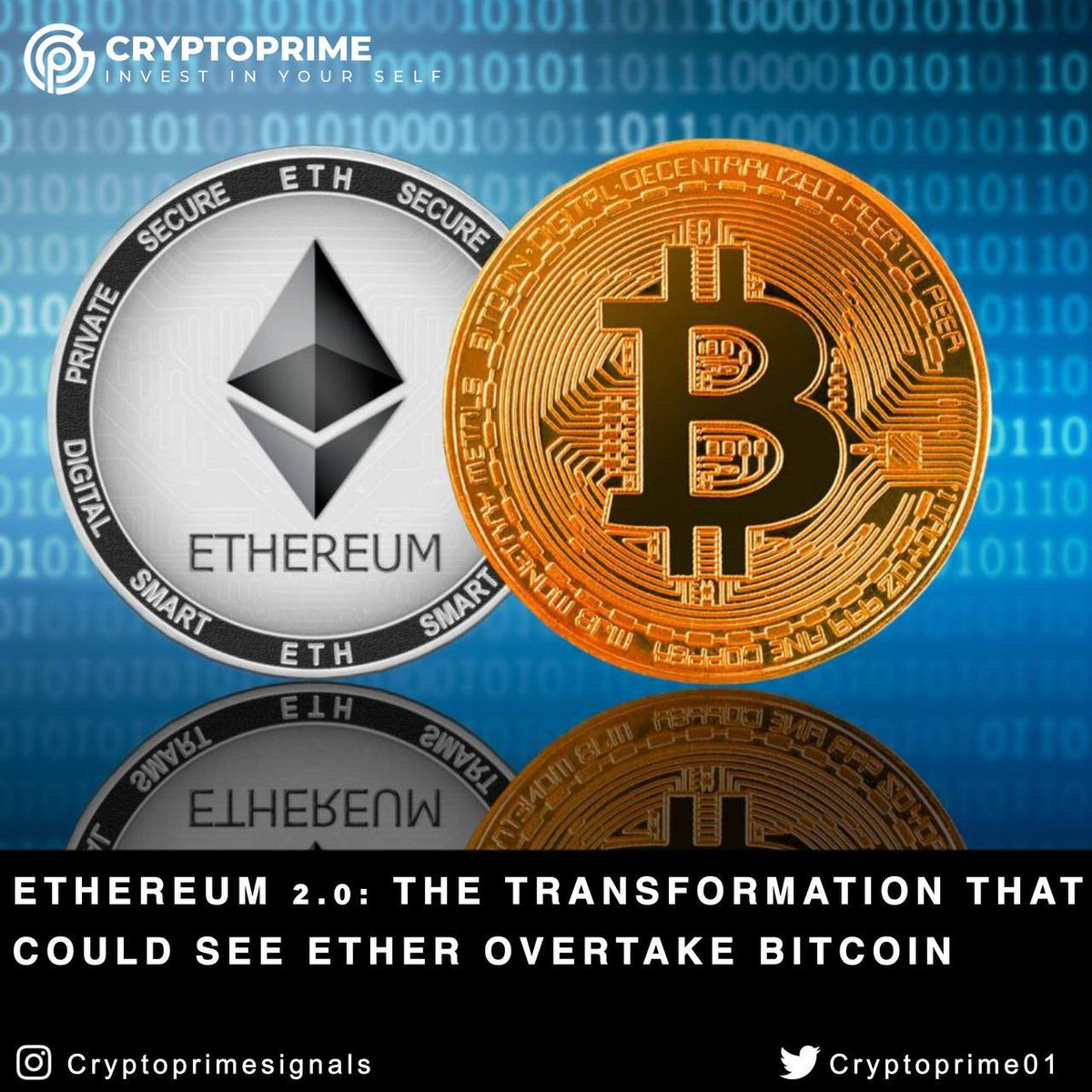 Ethereum 2.0: The transformation that could see ether overtake bitcoin  Read More:   #cryptocurrency #bitcoin #blockchain #crypto #btc #ico #ethereum #wallet #airdrop #cryptocurrencynews #cryptoexchange #trading #cryptotrading #love #followback #Twitterers