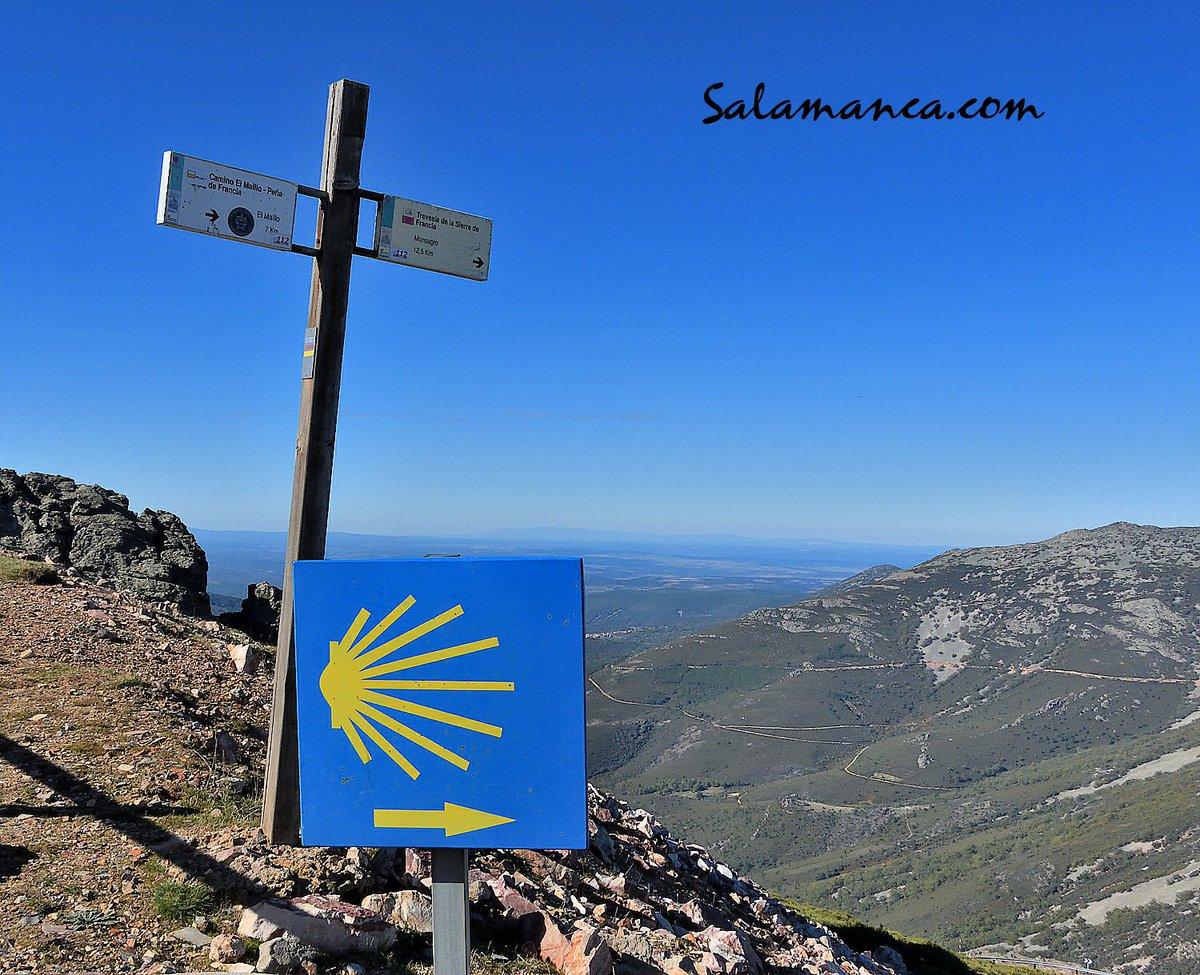 Desde la cima para dirigirse a cualquier camino... #PeñaDeFrancia #Salamanca #Foto #Photo