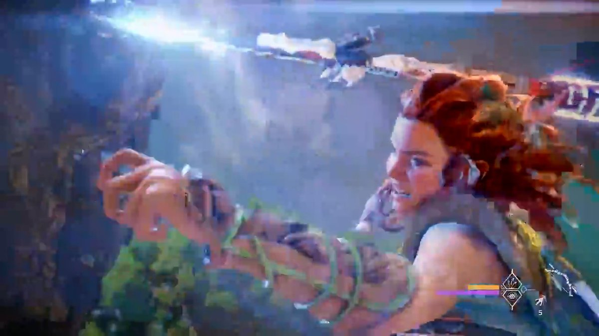 Aloy can unlock and upgrade 12 powerful Valor Surge attacks in Horizon Forbidden West. Guerrilla details her skills and abilities: