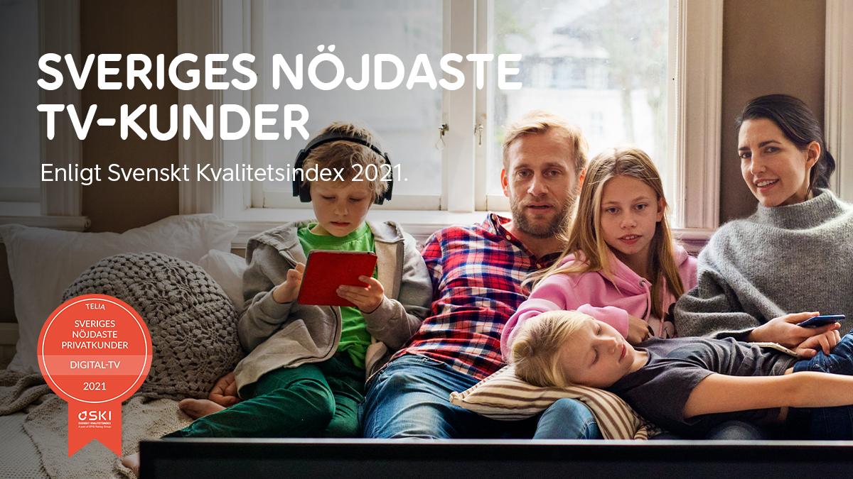 🎉 Våra tv-kunder är nöjdast i Sverige för sjunde året i rad!  När kunderna i årets SKI, Svenskt kvalitetsindex, har fått ranka tv-upplevelsen från sin leverantör står det klart att vi tar hem vår sjunde raka seger.   Läs mer här: https://t.co/cS7wRuVwaQ https://t.co/kUfKzKhdEY