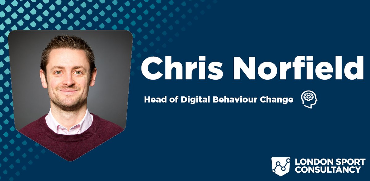 Meet the #LondonSportConsultancy team 💥  As part of our re-brand, we're sitting down with the key team members working on our consultancy services.  We begin with @chrisnorfield, London Sport's Head of Digital Behaviour Change 🤵  Read interview➡https://t.co/atBZMXgeCn https://t.co/0XVAlHmWKu
