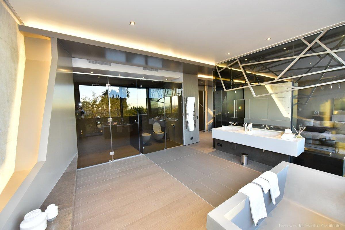 Concrete House   Read more >>>    #bathroomdesign #bathroom #luxurybathroom #cleansing #luxuryliving #moodmonday #mondaymotivation #interiordesign #interior #design #designinspo #concrete #glass #homedecor #bathroominspo #bathroomideas #luxury