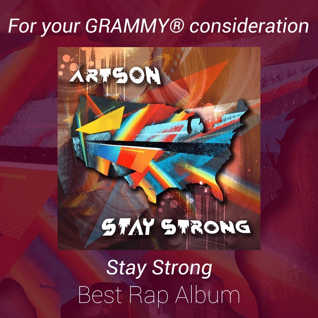 #Repost @iamartson  ・・・ Voting is open for all Recording Academy members. Please consider Artson for   🏆 Best Rap Album  #staystrong #Vote4GRAMMYs #GRAMMYs #Voting #Artson @RecordingAcad