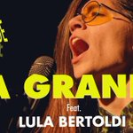 Image for the Tweet beginning: martes 26/10 @LaGrande_banda  Artista Invitada:@lulabertoldi