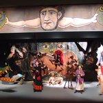 Image for the Tweet beginning: Teatrino napoletano del 1920. Teatro