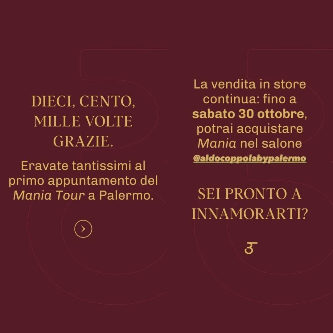 #Repost @canyamanmaniaofficial... ⭐ DIECI, CENTO, MILLE VOLTE GRAZIE. . .  Eravate tantissimi al primo appuntamento del  Mania tour a Palermo . . #canyaman1989 #macellariroberto #franciomw #nicoufficiostampa