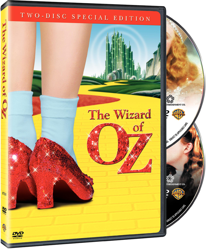 """October 25, 2005: """"The Wizard of Oz"""" finally got the deluxe DVD treatment with two special editions sets.  Complete details about this set here:   Spotlight   #judygarland #warnerbros #wizardofoz #oz #thewizardofoz #mgm #thejudyroom"""