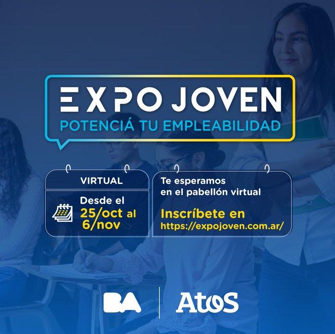 ¡Los esperamos en #ExpoJoven, la feria de empleabilidad más grande del país! 🚀A partir...