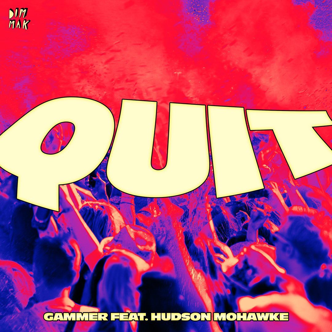 """""""Quit"""" from @DJGammer featuring @HudMo is OUT THIS FRIDAY… & they're bringing happy hardcore back 🌈💖❤️ pre-save: ffm.to/-quit"""