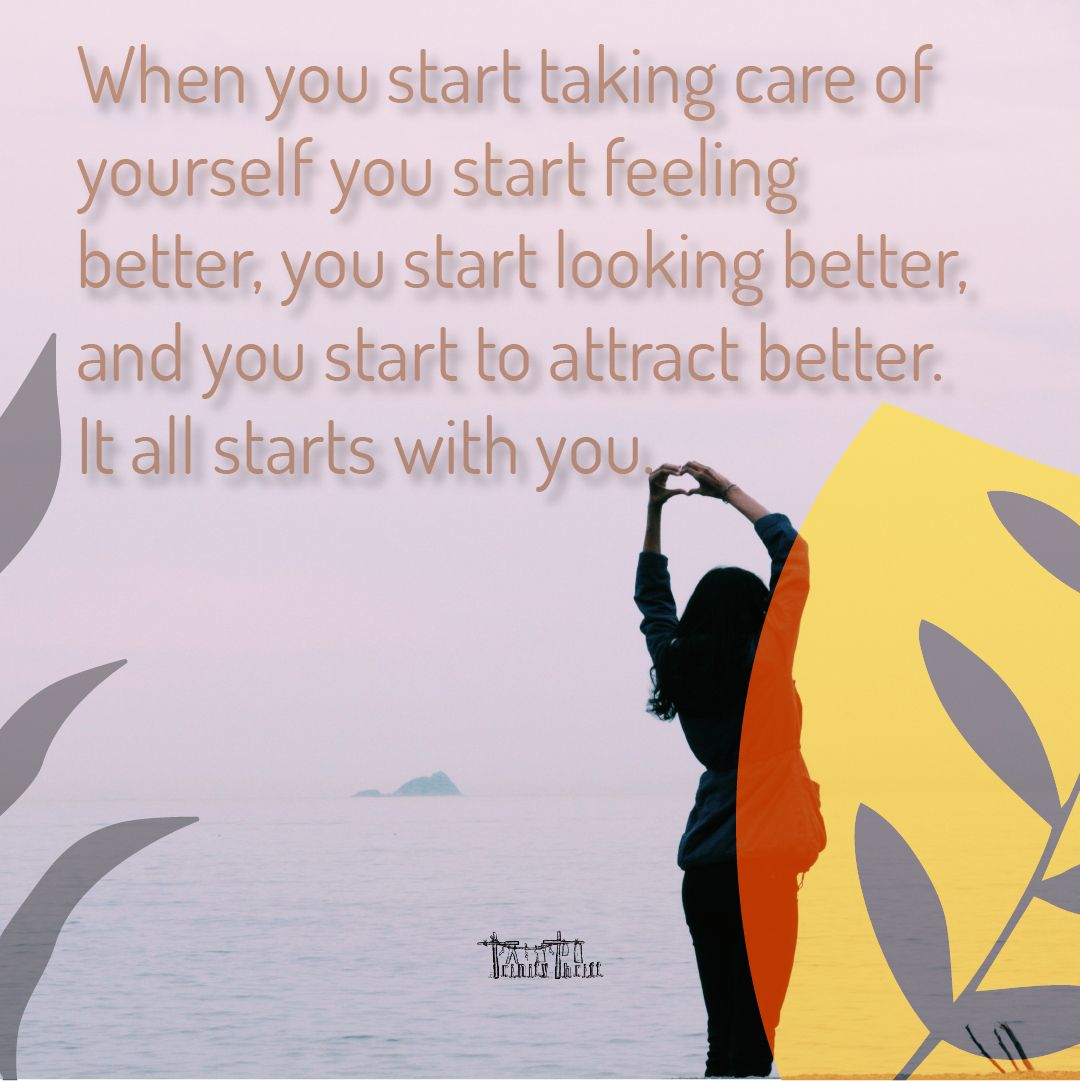 When you start taking care of yourself you start feeling better, you start looking better, and you start to attract better. It all starts with you. #Trinitythrift #MondayMotivation #motivation #motivationalquotes #motivationmonday #motivationalmonday #motivations #motivationdaily