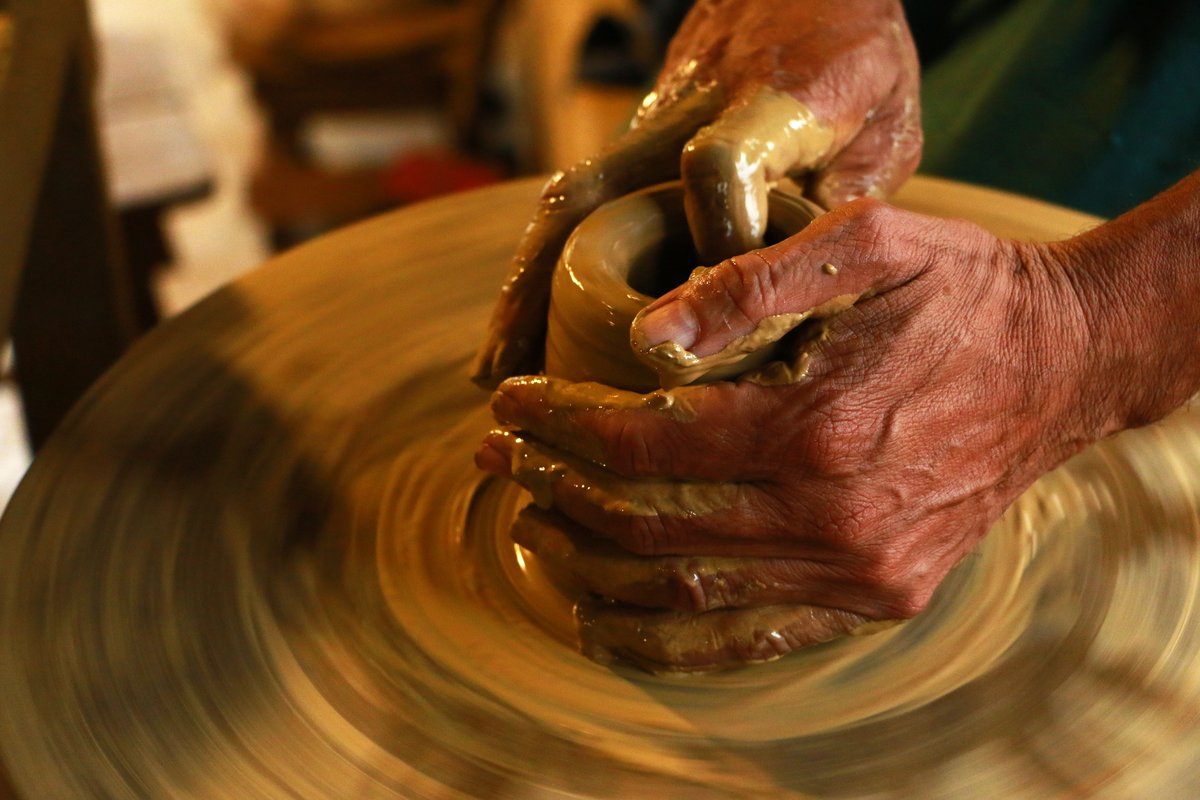 #BucketList #inspiration #prosperity from the 1200+ items on my bucket list () Learn to Throw a Clay Pot (DONE) #inspired2achieve