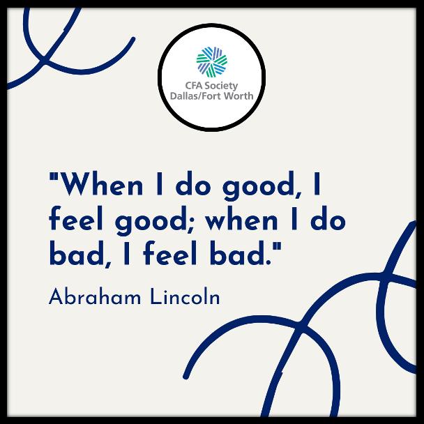 """When I do good, I feel good; when I do bad, I feel bad.""  – Abraham Lincoln  #MotivationMonday #Inspiration #Quotes"