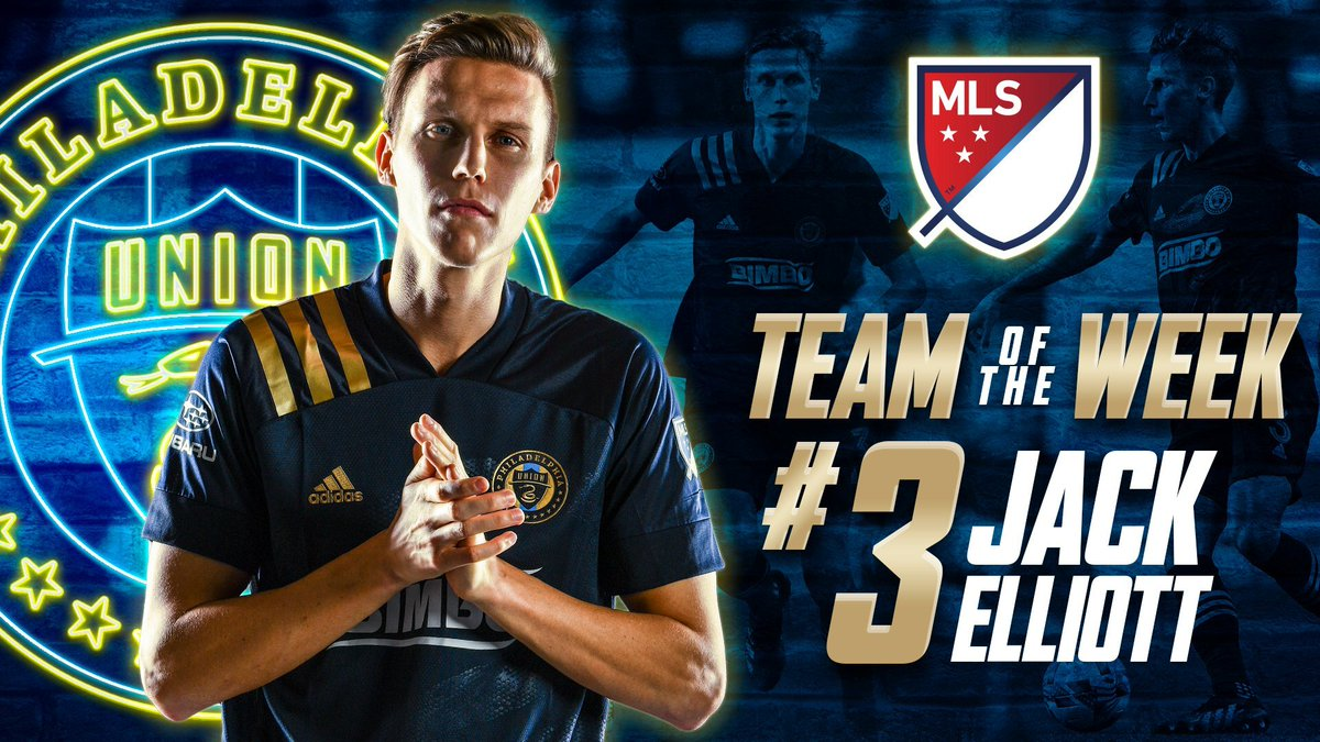 .@jackells95's strong backline performance earns him a spot on @MLS's Team of the Week 💪💪💪 #DOOP