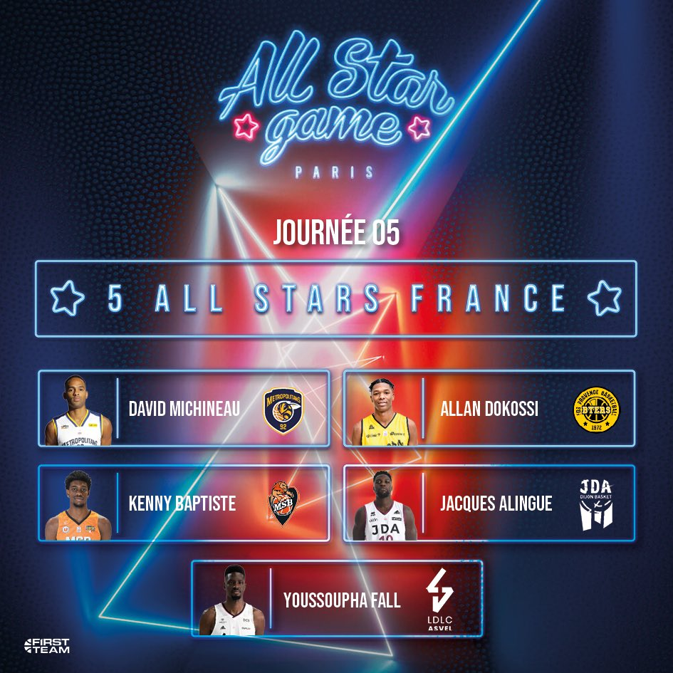 Un Dijonnais pour le ALL STARS FRANCE 🇫🇷  Un Dijonnais pour le ALL STARS MONDE 🌎