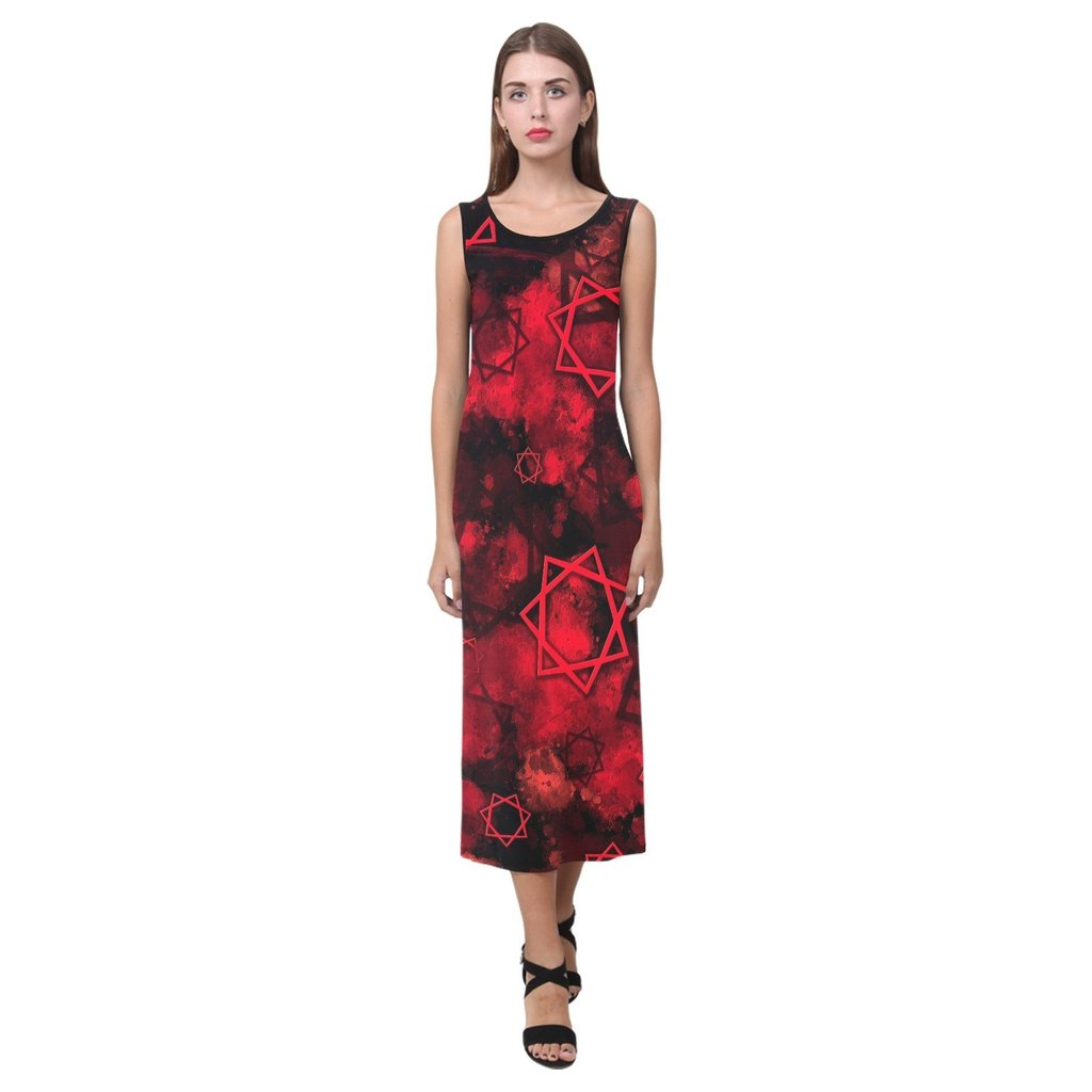Babalon 156 Long Dress by Brimstone Apparel  ⏩  #occult #fashion #thelema #pagan #dowhatthouwilt #aleister #crowley #goth #punk #magick