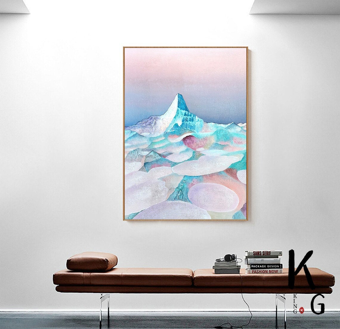 Excited to share the latest addition to my #etsy shop: Lrage Original Abstract Painting,Mountain Painting,Original Art,landscape Painting,Acrylic Painting,Landscape Impasto Oil Painting on Canvas  #office #fabric #abstract #fashion #contemporary