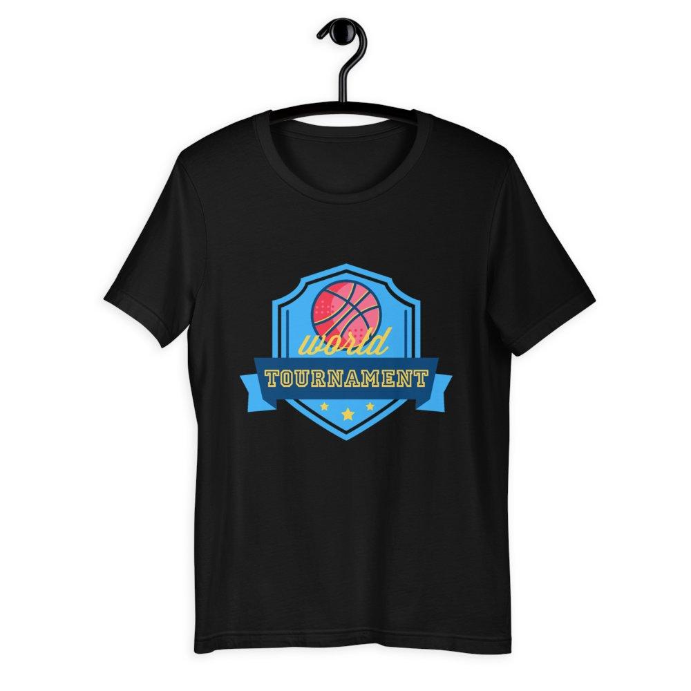 World Tournament Basketball Unisex T-Shirt at €20 🤑     ☝️ Get it now! ☝️   #onlineshopping #shopping #shop #fashion #sale #deals #shoponline #shopsmall #smallbusiness
