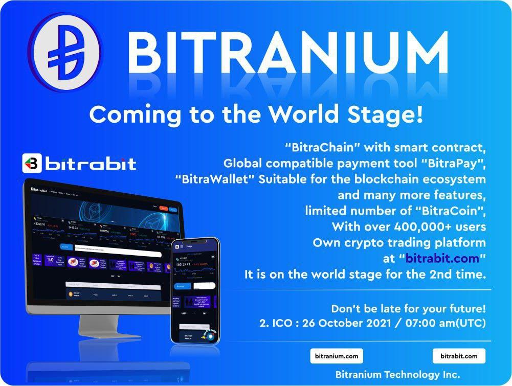 Türkiye'nin blockchain teknolojisi #bitrabit #bitranium