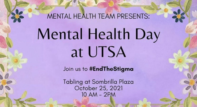 We had a great time tabling for Mental Health Day! It was awesome discussing health disparities in African American women and the impact it continues to play in the community. #EndTheStigma #MentalHealthDay