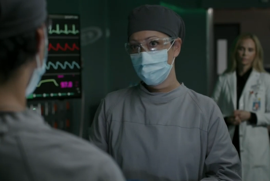 LIM!!!!!! i'm so happy when i see her😭 #TheGoodDoctor