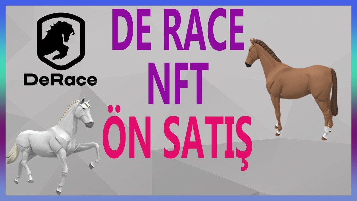 Derace Nft Ön Satış - Derace Nft Game Nedir ? Detaylı Anlatım   youtu.be/dKK2Sfqkh5c   #derace #nft #presale #kriptokurdu #nfts