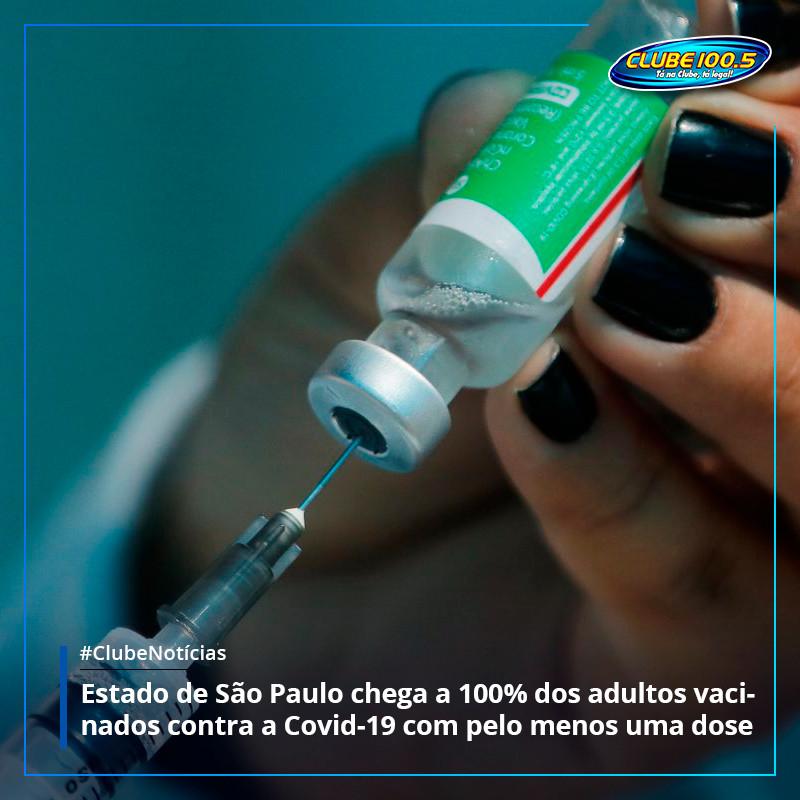 Estado lidera o ranking de vacinação no Brasil. #ClubeNotícias  Acesse nosso s... https://t.co/0AlbcNVwFW https://t.co/zivl9brMOB