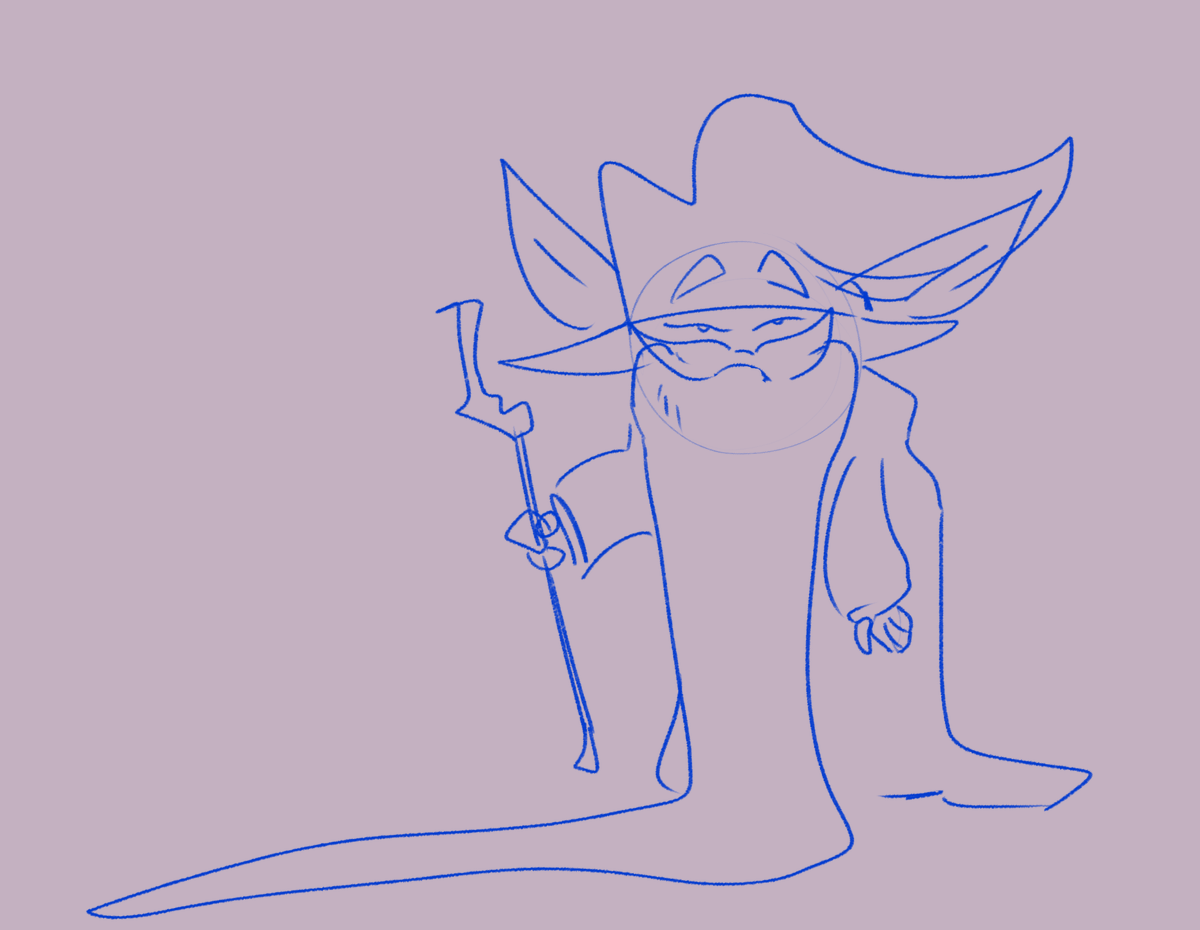 #gobtober2021 #gobtober day 26 : very old. not a wizard just an old old gob