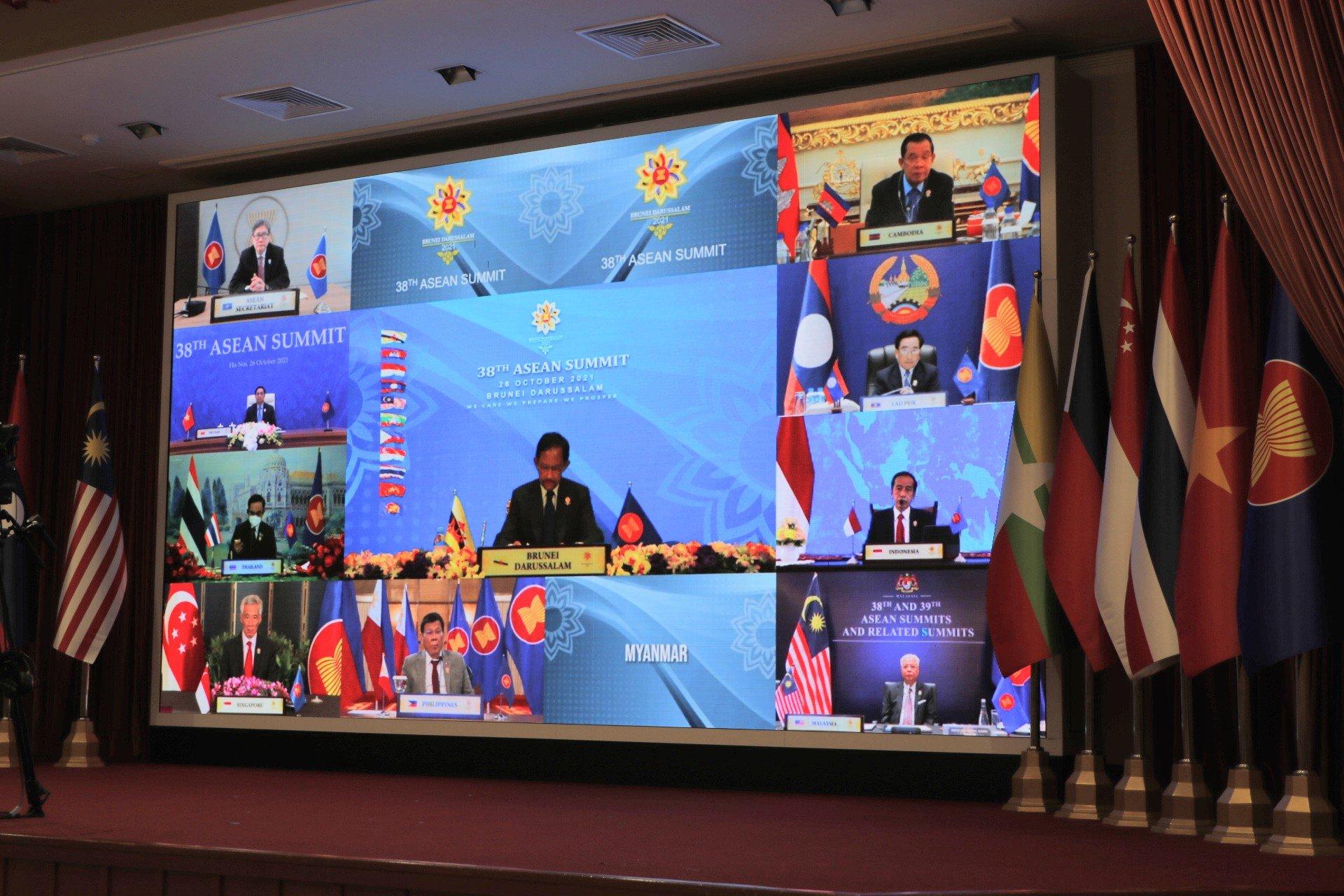 आसियान के नेताओं का तीन दिन का वर्चुअल सम्मेलन आज शुरू हुआ