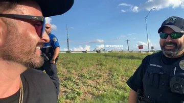 Hours after #Austin police were seen smiling and fist-bumping with with neo-Nazis holding an anti-Semitic banner near a Jewish neighborhood, 'Racist and antisemitic slogans and symbols were daubed across several parking spots at Anderson High School.'