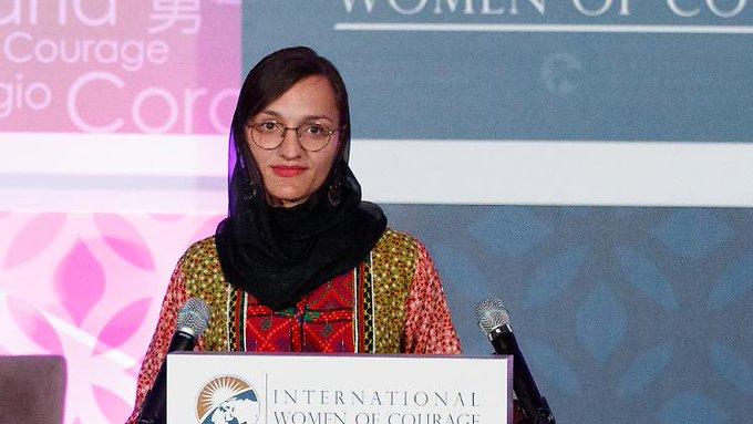 Zarifa Ghafari kommt am 18.11. zum  Iserlohn.  Die Frauenrechtlerin und jüngste afghanische Bü....