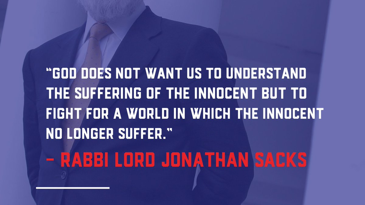 Today, the 20th of Heshvan, marks the first yahrzeit of Rabbi Lord Jonathan Sacks, of blessed memory.  We remember his ability to make the complex understandable and to champion the Jewish cause wherever he went.  #EndJewHatred