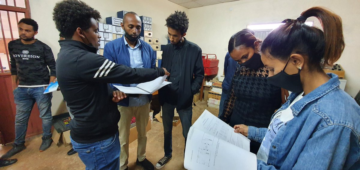 The interactions and exchange of knowledge in theory and practice, form the basis for future collaboration between students of the university from MIT and trainees from NCEW in #Eritrea 🇪🇷#EritreaPrevails