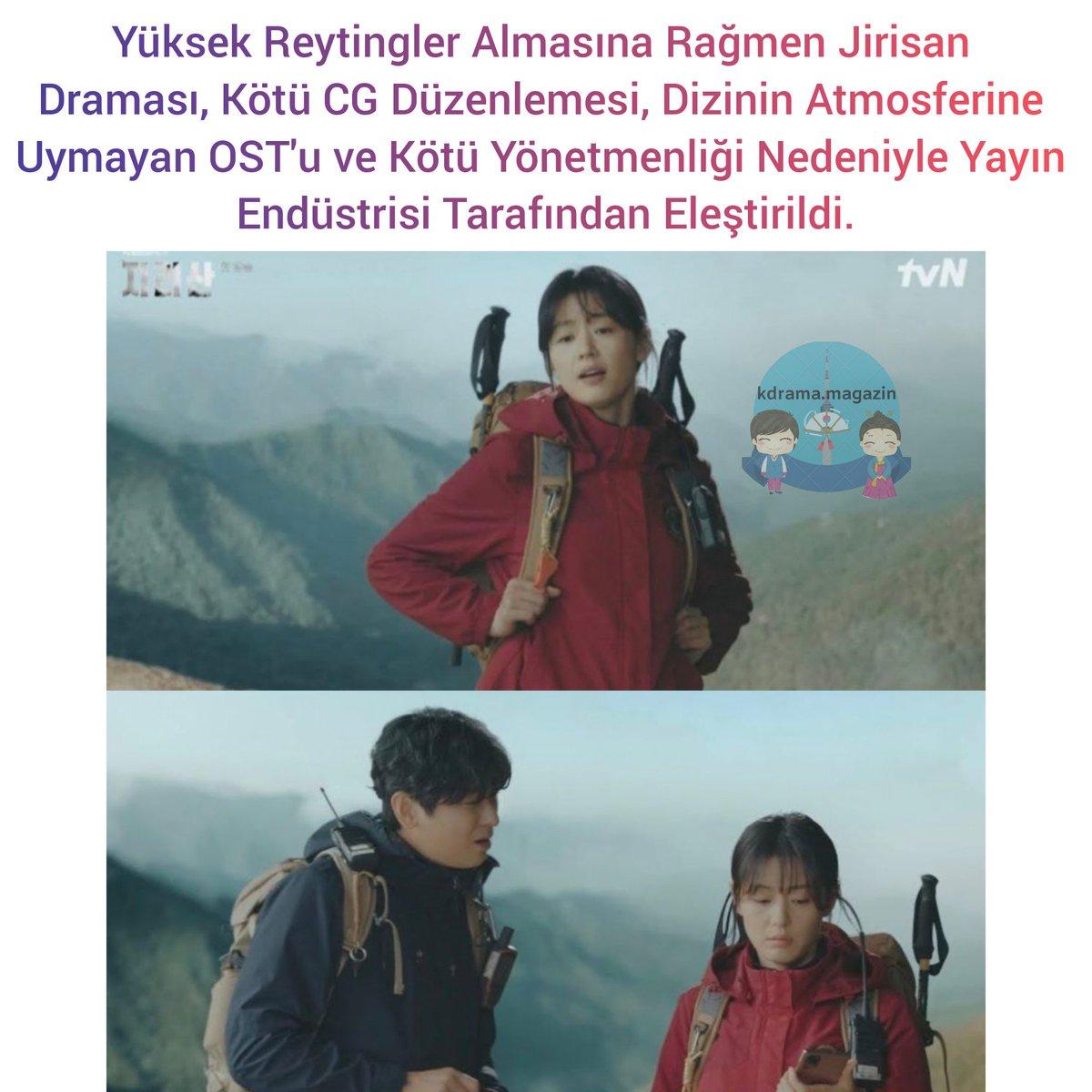 Yüksek Reytingler Almasına Rağmen #Jirisan Draması, Kötü CG Düzenlemesi, Dizinin Atmosferine Uymayan OST'u ve Kötü Yönetmenliği Nedeniyle Yayın Endüstrisi Tarafından Eleştirildi.