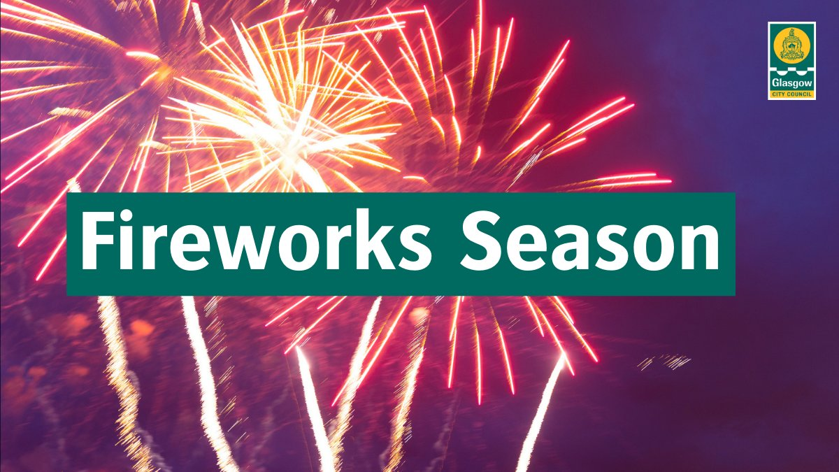 Firework season is upon us. 🎉  Remember to be mindful of others.  🚨Fireworks are only permitted between 6pm & 11pm (or until midnight on 5 Nov) 🎇Fireworks are not allowed in public places 🐕🦺Please be considerate of animals and neighbours  #BonfireNight #SaferAutumn2021