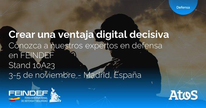 Estaremos en #FEINDEF21, la Feria Internacional de Defensa y Seguridad, que se celebra en...
