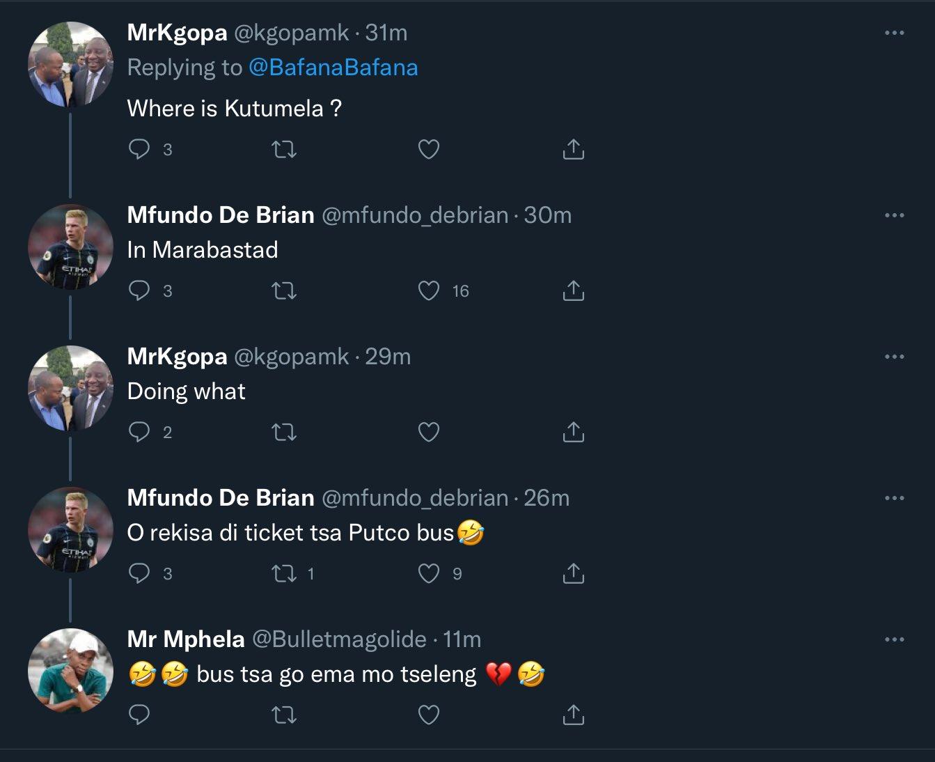 Bafana Bafana Twitter
