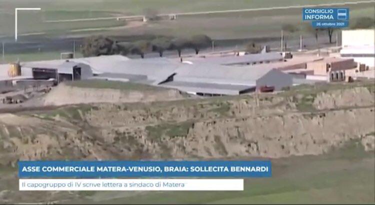 ASSE COMMERCIALE MATERA-VENUSIO, @LucaBraia SOLLEC...
