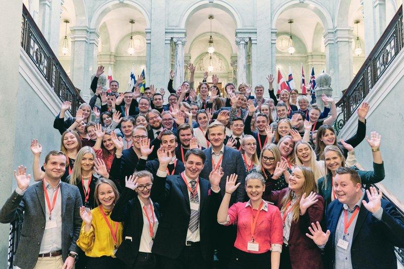 Ungdomens Nordiska Råd firar 50 år!🎉  - Unga människor ska inte bara höras när frågor som rör dem direkt diskuteras, de ska också ha inflytande över alla frågor i Nordiska rådet, säger @AldisMjoll, @unginorden.  Läs nyheten här: https://t.co/8JdK6ft1qT #nrsession #nrpol https://t.co/O61I97xtD3