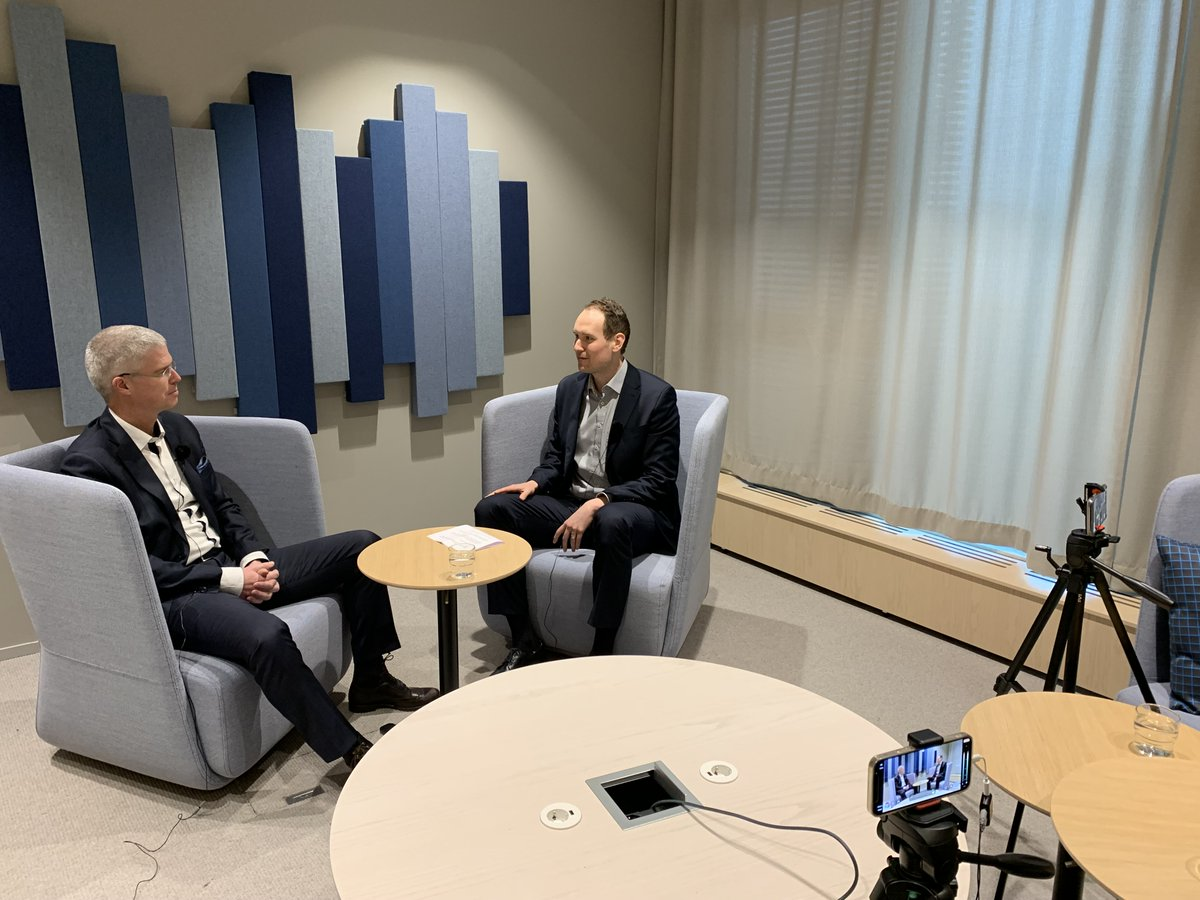 Following our January-September 2021 interim results announcement, our CFO @berends_arjen was interviewed by @Inderes TV. Arjen shared some key data, as well as factors driving markets - and the business horizon. Interview in English.
