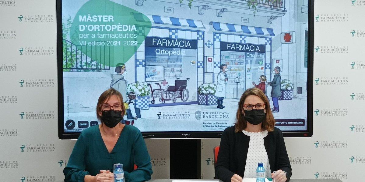 test Twitter Media - El COFB i la Universitat de Barcelona (@Farmacia_UB)  inauguren la VII edició del Màster d'Ortopèdia per a farmacèutics, que s'imparteix per primera vegada en modalitat híbrida.  Els detalls de la presentació➡️https://t.co/RwvqWR07kX https://t.co/xsn165Soln
