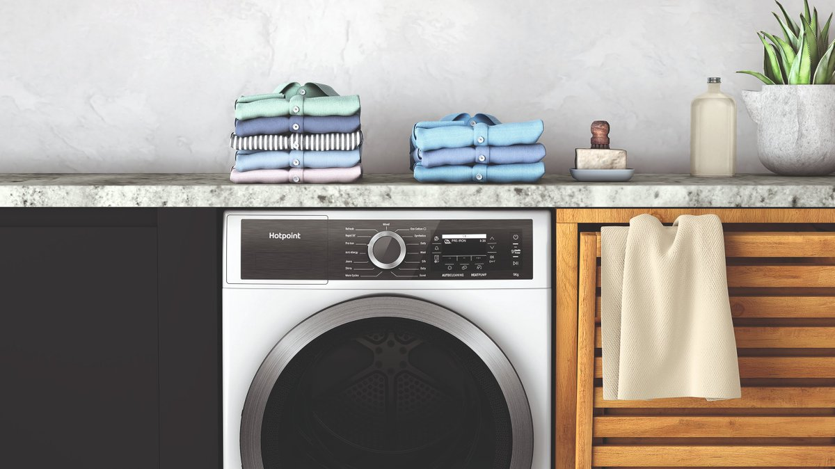 test Twitter Media - Hotpoint is introducing the new, perfectly matching, GentlePower tumble dryer, which helps to protect fabrics and care for the environment, whilst ensuring extraordinary drying performance.  Read the full story on our blog, available here: https://t.co/JpIh3ztTiI https://t.co/efaOF0ACtF