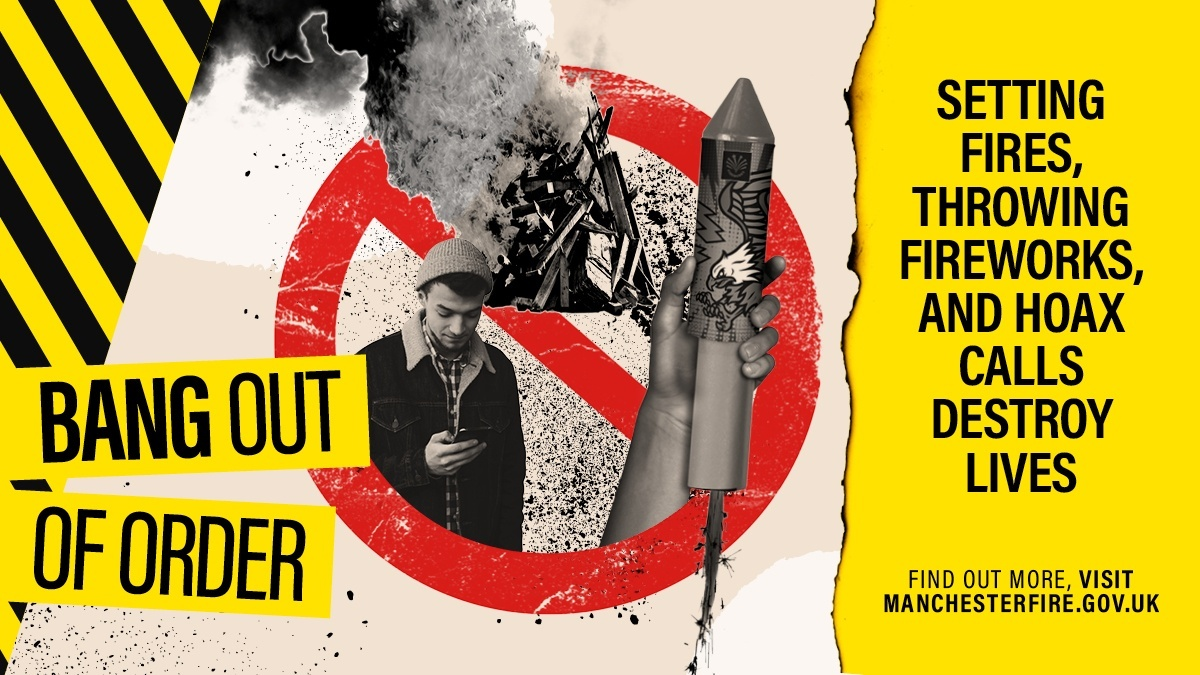 🚫It's illegal to buy or use fireworks if you're under 18.  🔥Don't start fires or set off illegal fireworks.  #BangOutOfOrder #BonfireNight