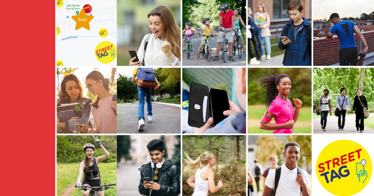 The new @streettaghq leader board for districts across #Oxfordshire has kicked off to turn streets and parks into a giant virtual playground! An innovative way to get the whole family moving 🙌 Find out more details here: https://t.co/2GeSpOIgCi #StreetTag #ActiveTravel